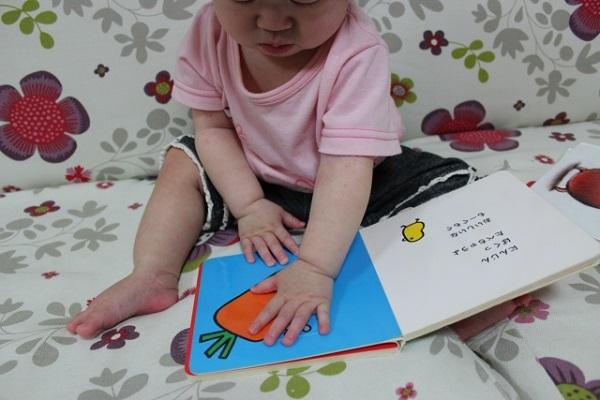 0歳児には表紙はもちろん中も固いハードブックを選ぶ