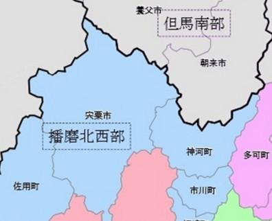日本海側の地域