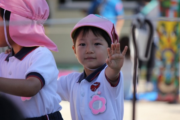 私立幼稚園の運動会